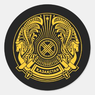 Manteau de Kazakhstan d'autocollant de bras