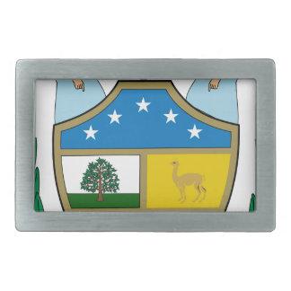 Manteau de la Bolivie des bras Boucle De Ceinture Rectangulaire