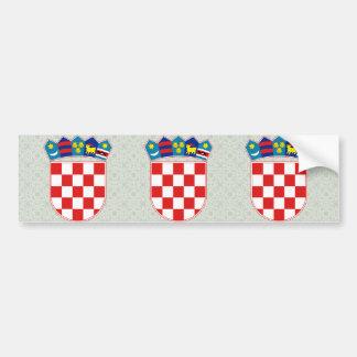 Manteau de la Croatie de détail de bras Autocollant Pour Voiture