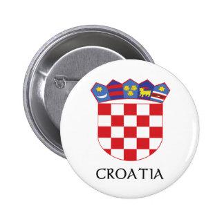 Manteau de la Croatie des bras Pin's