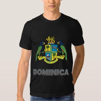 Manteau de la Dominique des bras T-shirts