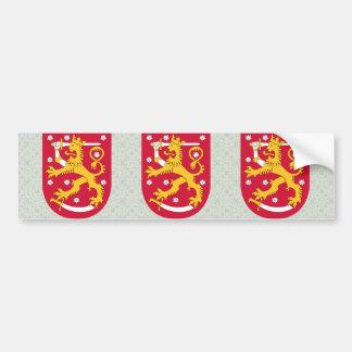 Manteau de la Finlande de détail de bras Autocollant De Voiture