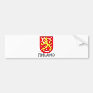 Manteau de la Finlande des bras Autocollant De Voiture