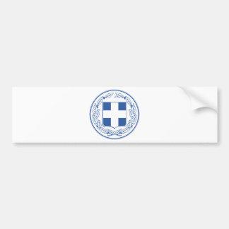Manteau de la Grèce des bras GR Autocollant De Voiture