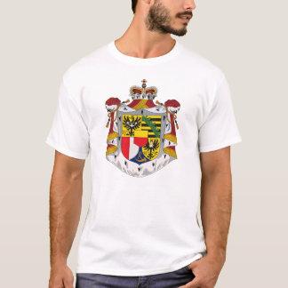 Manteau de la Liechtenstein de T-shirt de bras