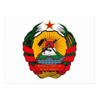 Manteau de la Mozambique de carte postale de bras