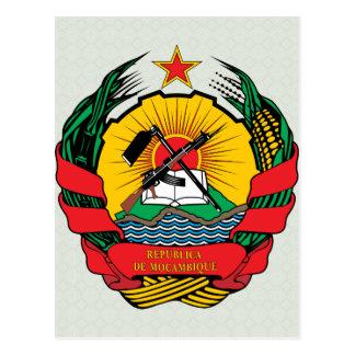 Manteau de la Mozambique de détail de bras Carte Postale