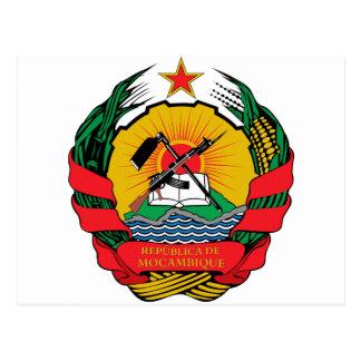 Manteau de la Mozambique des bras Carte Postale