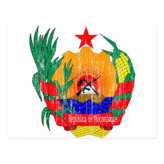 Manteau de la Mozambique des bras Cartes Postales