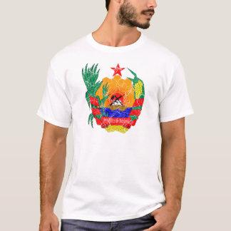 Manteau de la Mozambique des bras T-shirt