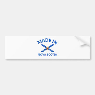 Manteau de la Nouvelle-Écosse des bras Autocollant De Voiture