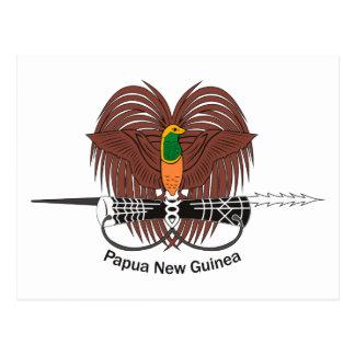 Manteau de la Papouasie-Nouvelle-Guinée de carte