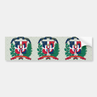 Manteau de la République Dominicaine de détail de Autocollant Pour Voiture
