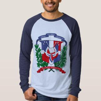 Manteau de la République Dominicaine de T-shirt de