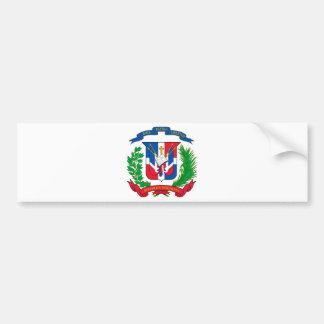 Manteau de la République Dominicaine des bras Autocollant De Voiture