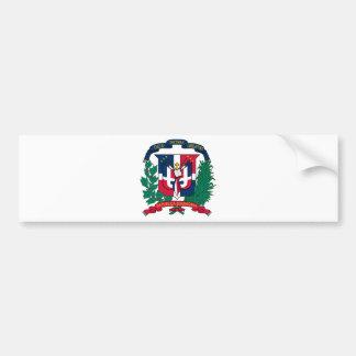 Manteau de la République Dominicaine des bras Autocollant Pour Voiture