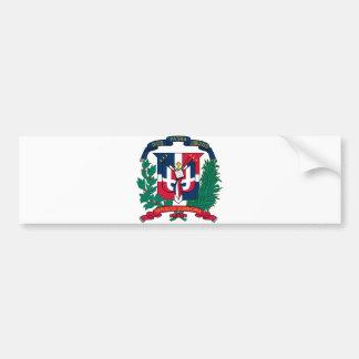 Manteau de la République Dominicaine des bras offi Autocollant De Voiture