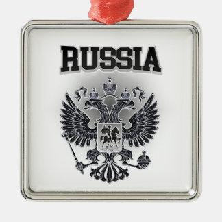 Manteau de la Russie des bras Ornement Carré Argenté