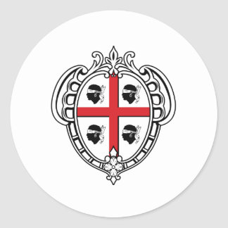 Manteau de la Sardaigne Italie des bras