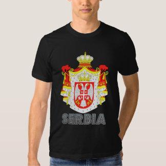 Manteau de la Serbie des bras T-shirt