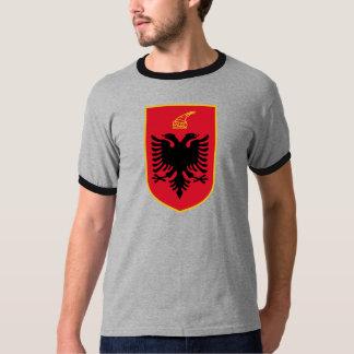 Manteau de l'Albanie de détail de bras T-shirt