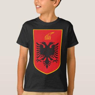 Manteau de l'Albanie des bras T-shirt