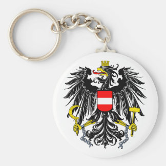 Manteau de l'Autriche de porte - clé de bras Porte-clés