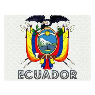 Manteau de l'Equateur des bras Cartes Postales