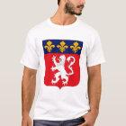 Manteau de Lyonnais de T-shirt de bras