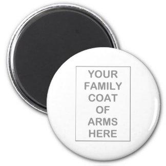 Manteau de magnet de bras magnet rond 8 cm