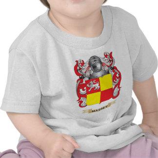 Manteau de Massey des bras (crête de famille) T-shirts
