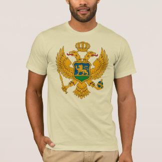 Manteau de Monténégro de T-shirt de bras