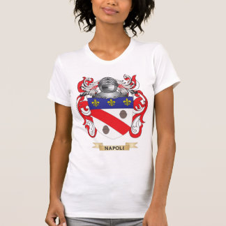Manteau de Napoli des bras (crête de famille) T-shirts