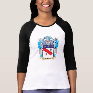 Manteau de Napoli des bras - crête de famille T-shirts