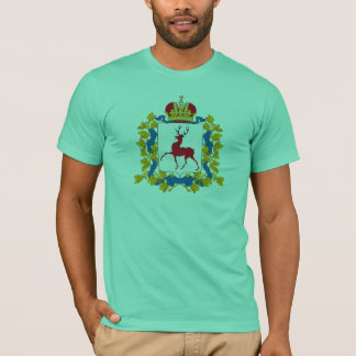 Manteau de Nijni-Novgorod de T-shirt de bras