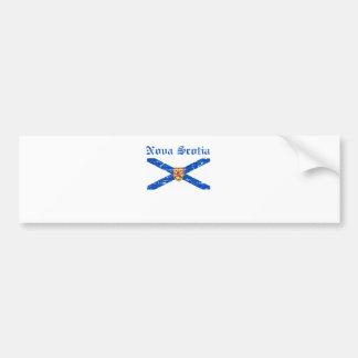 Manteau de Nova_Scotia Canada de conception de Autocollant De Voiture