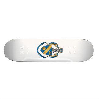 Manteau de phi de thêta alpha des bras skateboard 20,6 cm