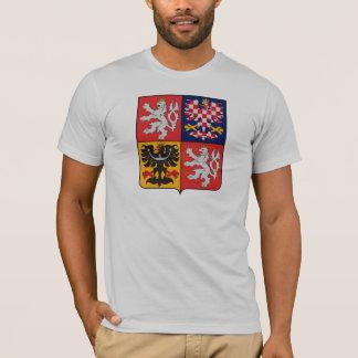 Manteau de République Tchèque de T-shirt de bras