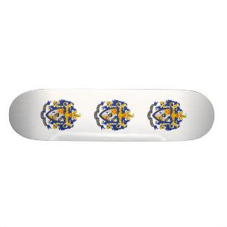 Manteau de SAE de couleur de bras Mini Skateboard 18,4 Cm