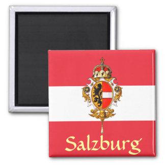 Manteau de Salzbourg des bras Magnet Carré
