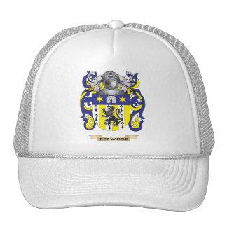 Manteau de séquoia des bras (crête de famille) casquette