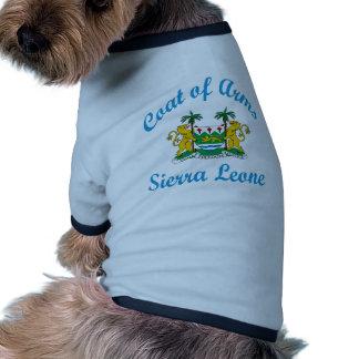 Manteau de Sierra Leone de bras Manteaux Pour Toutous
