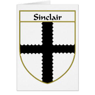 Manteau de Sinclair des bras/de crête de famille Cartes De Vœux