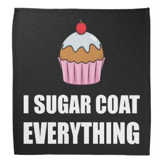 Manteau de sucre tout petit gâteau bandanas