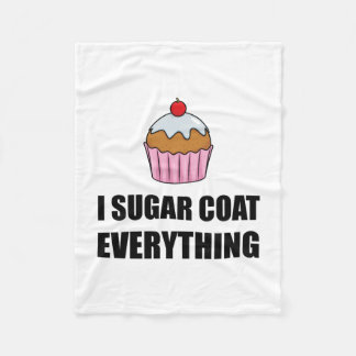 Manteau de sucre tout petit gâteau couverture polaire