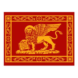 Manteau de Venise des bras Carte Postale