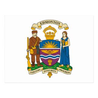 Manteau d'Edmonton de carte postale de bras