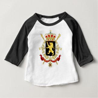 Manteau d'emblème de la Belgique des bras - T-shirt Pour Bébé