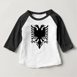 Manteau des bras albanais t-shirt pour bébé