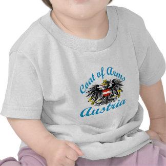 Manteau des bras Autriche T-shirts